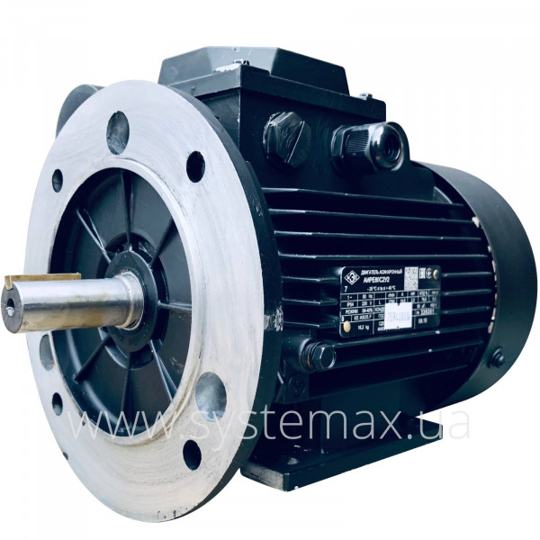 Однофазний асинхронний електродвигун АІРЕ 80 С4 (1,5 кВт 1500 об/хв) - фото 3