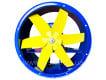 Вентилятор осевой ВО 06-300 №8 (6 лопастей) - фото 2