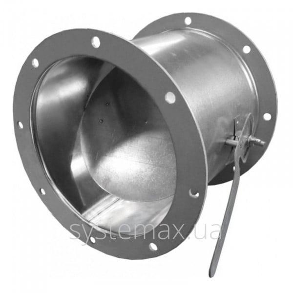 АЗД 136.000-02 круглая заслонка с ручным приводом