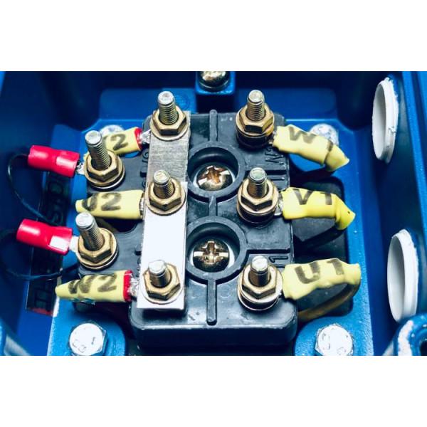 Подключение трехфазного электродвигателя к сети 380 В