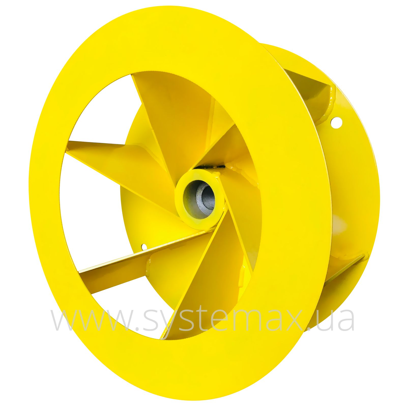 Фото робочого колеса пилового вентилятора ВЦП 6-46-2,5