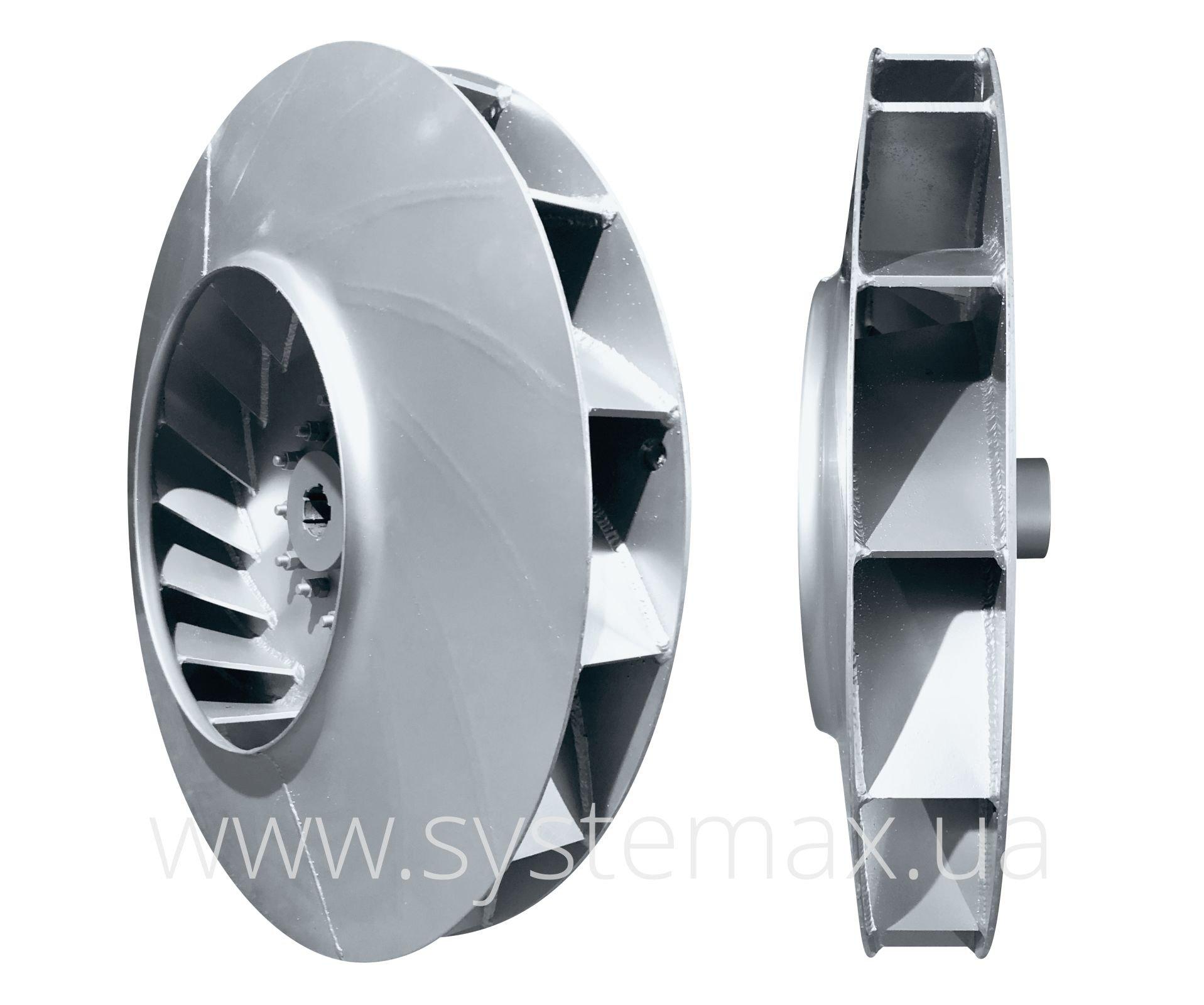 Фото рабочего колеса вентилятора дутьевого ВДН 22