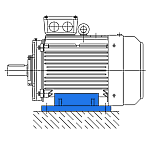 Исполнение IM 1081 - электродвигатель АИР на лапах