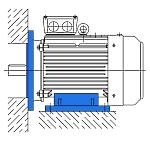 Исполнение IM 2081 - электродвигатель АИР комбинированный (лапы и фланец)