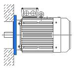 Исполнение IM 3081 - электродвигатель АИР с фланцем